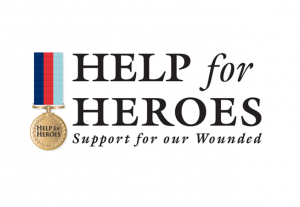 Help for Heroes:  Raises money to support members of the Armed Forces who have been wounded in the service of their country.